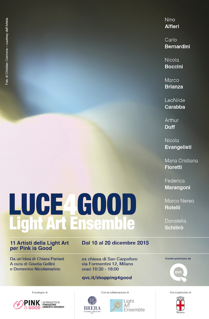 LUCE4GOOD - Light Art Ensemble 2015