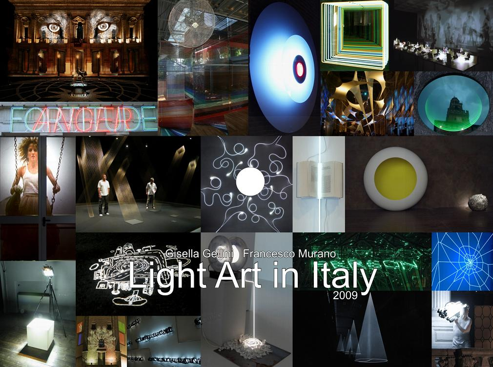 Light Art in Italy 2009