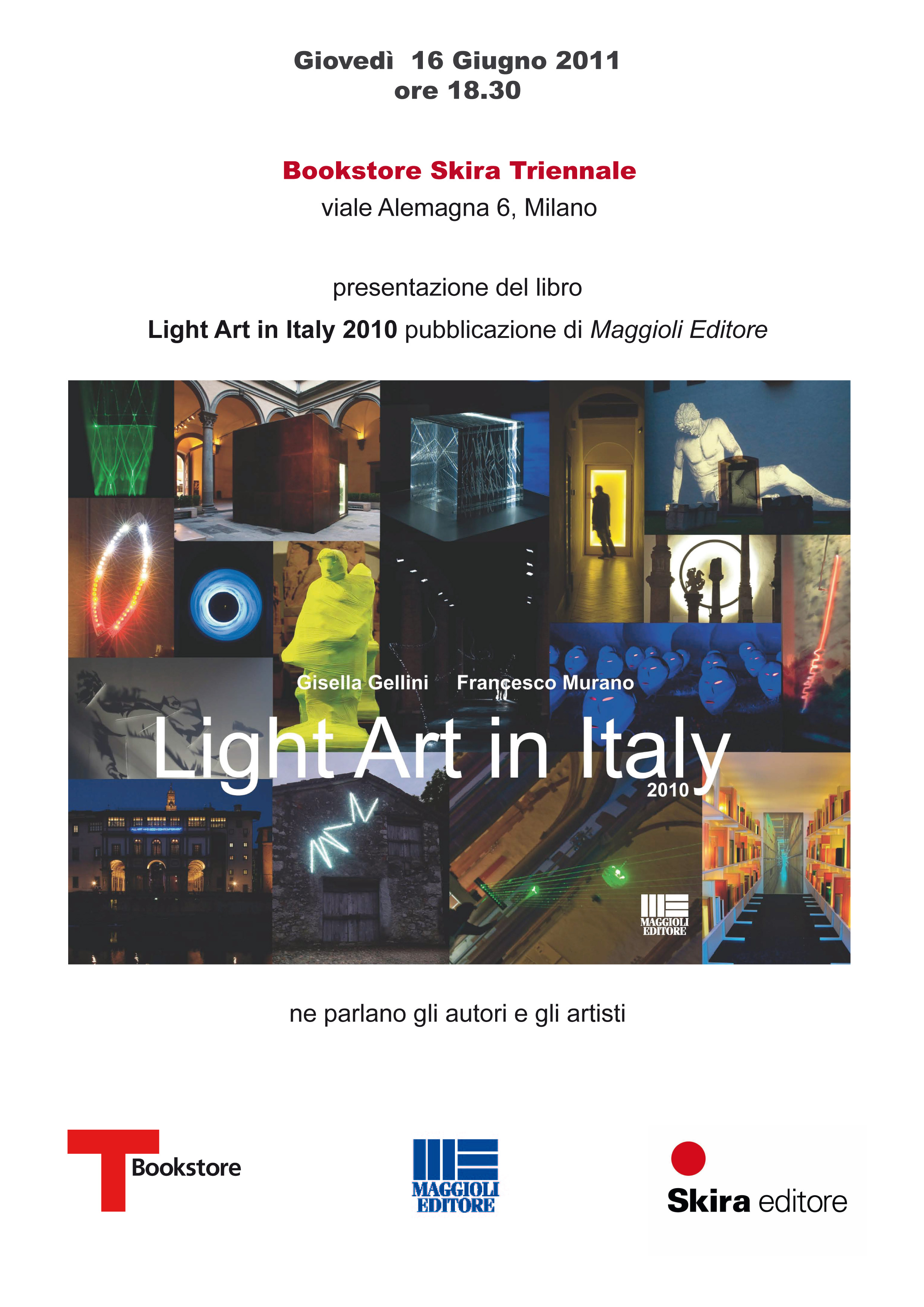 Presentazione 'Light Art in Italy 2010
