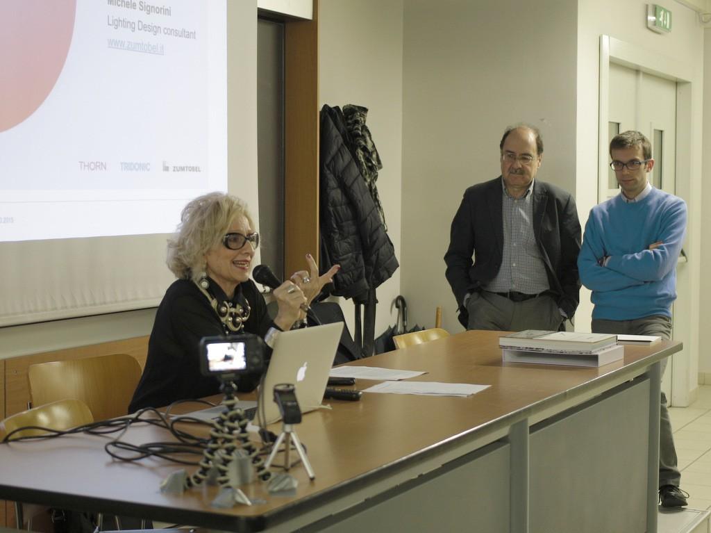 Gisella Gellini, Gianni Forcolini, Michele Signorini