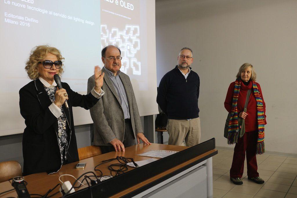 Gisella Gellini, Gianni Forcolini, Fabio Agrifoglio, LeoNilde Carabba