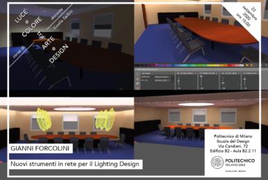 Luce e Colore tra Arte e Design | Lezione 22 settembre 2020 | Gianni Forcolini