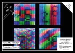 Luce e Colore tra Arte e Design   Lezione 6 ottobre 2020   Massimo Hachen