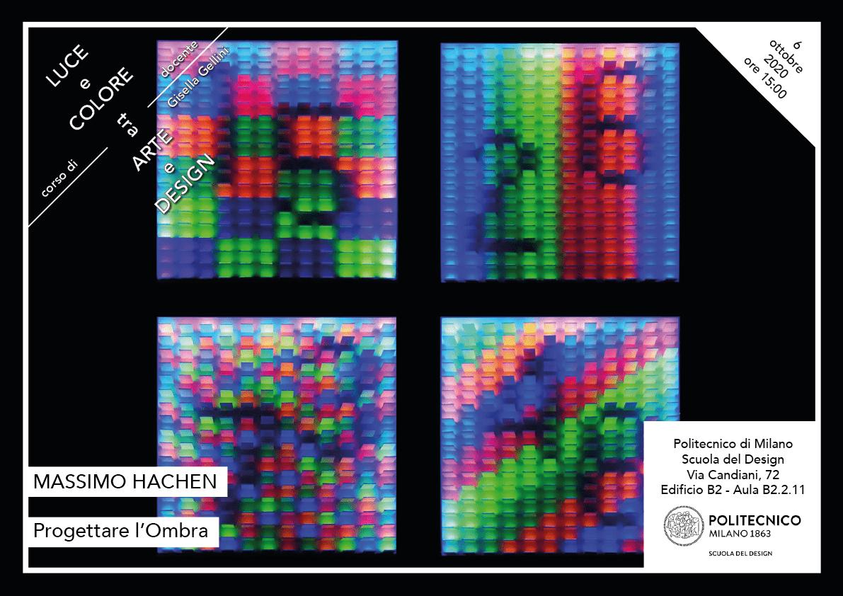 Luce e Colore tra Arte e Design | Lezione 6 ottobre 2020 | Massimo Hachen