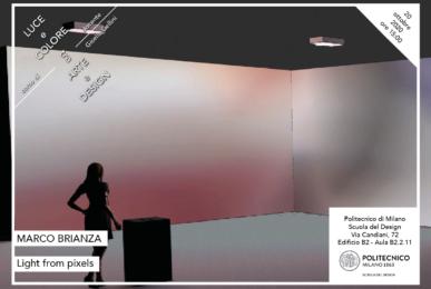 Luce e Colore tra Arte e Design | Lezione 20 ottobre 2020 | Marco Brianza