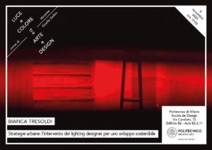 Luce e Colore tra Arte e Design   Lezione 3 novembre 2020   Bianca Tresoldi
