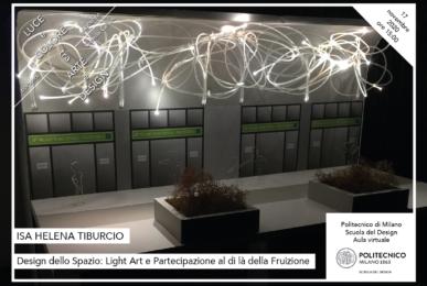 Luce e Colore tra Arte e Design | Lezione 17 novembre 2020 | Isa Helena Tiburcio