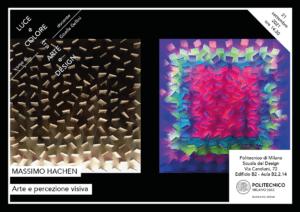 Luce e Colore tra Arte e Design   Lezione 21 settembre 2021   Massimo Hachen
