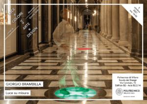 Luce e Colore tra Arte e Design   Lezione 5 ottobre 2021   Giorgio Brambilla