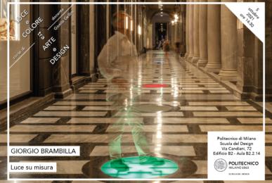 Luce e Colore tra Arte e Design | Lezione 5 ottobre 2021 | Giorgio Brambilla