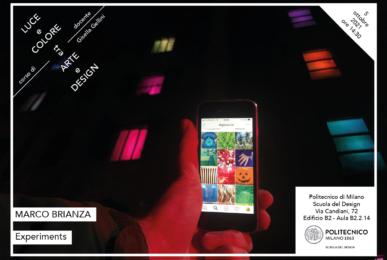 Luce e Colore tra Arte e Design | Lezione 5 ottobre 2021 | Marco Brianza
