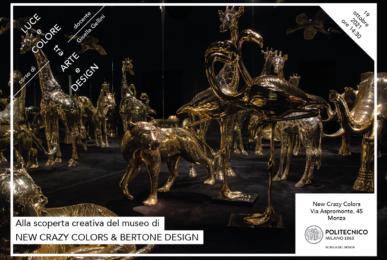Luce e Colore tra Arte e Design | Lezione 19 ottobre 2021 | New Crazy Colors